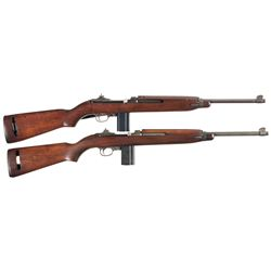 Two U.S. M1 Semi-Automatic Carbines -A) Saginaw M1 Semi-Automatic Carbine