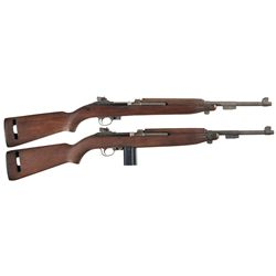 Two U.S. M1 Semi-Automatic Carbines -A) Rock-Ola M1 Semi-Automatic Carbine