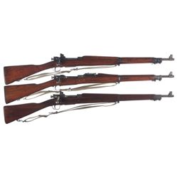 Collector's Lot of Three Model 1903 Bolt Action Rifles -A) Smith-Corona Model 03-A3 Bolt Action Rifl