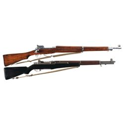Two U.S. Rifles -A) U.S. Winchester Model 1917 Bolt Action Rifle