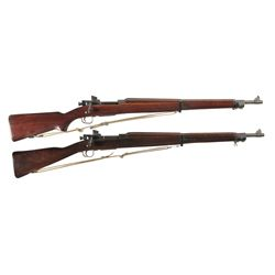 Two Bolt Action U.S. Military Rifles -A) Smith Corona Model 03-A3 Bolt Action Rifle with Sling