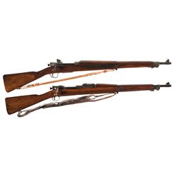 Two U.S. Bolt Action Rifles -A) Remington 03-A3 Bolt Action Rifle