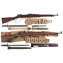 Two U.S. Bolt Action Rifles -A) Springfield Model 1903 Mark I Rifle with Accessories