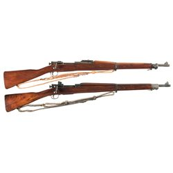 Two U.S. Bolt Action Rifles -A) Remington Model 1903 Bolt Action Rifle with Sling
