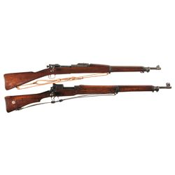 Two Bolt Action Military Rifles -A) U.S. Springfield Model 1903 Bolt Action Rifle with Sling