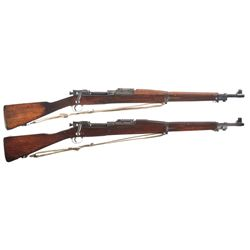Two U.S. Bolt Action Rifles -A) Springfield Model 1903 Bolt Action Rifle