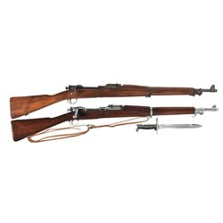 Two Springfield Armory 1903 Bolt Action Rifles -A) Springfield Armory 1903 Bolt Action Rifle