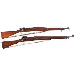 Two U.S. Bolt Action Rifles -A) Springfield Armory Model 1903 Bolt Action Rifle