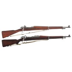 Two U.S. Bolt Action Rifles -A) Remington Model 1903-A3 Bolt Action Rifle