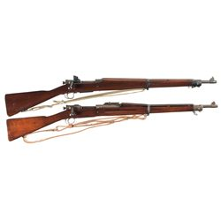 Two U.S. Bolt Action Rifles -A) Smith Corona Model 1903-A3 Bolt Action Rifle