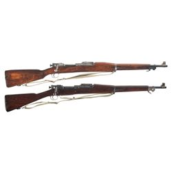 Two U.S. Bolt Action Rifles -A) USMC Rock Island Arsenal Model 1903 Bolt Action Rifle