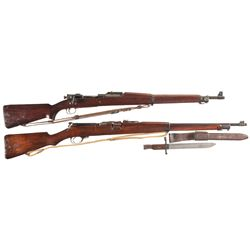 Two Military Bolt Action Rifles -A) Springfield Model 1903 Bolt Action Rifle