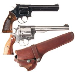 Two Double Action Revolvers -A) Taurus Model 669 Double Action Revolver