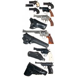 Eight Handguns -A) Remington Type III Derringer