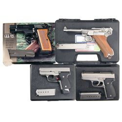 Four Semi-Automatic Pistols -A) FEG Model GKK-92C Semi-Automatic Pistol with Box