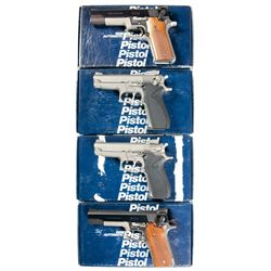 Four Boxed Smith & Wesson Semi-Automatic Pistols -A) Smith & Wesson Model 745 Semi-Automatic Pistol