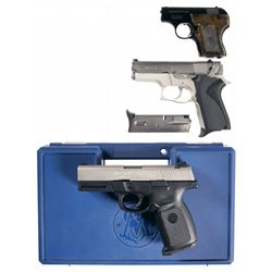 Three Smith & Wesson Semi-Automatic Pistols -A) Smith & Wesson Model 61-3 Semi-Automatic Pistol
