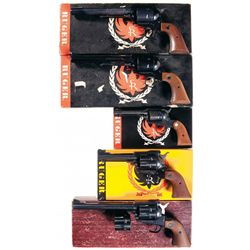 Five Boxed Ruger Single Action Revolvers -A) Ruger Super Blackhawk Single Action Revolver