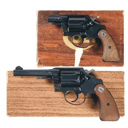 Two Boxed Colt Revolvers -A) Colt Detective Special Double Action Revolver