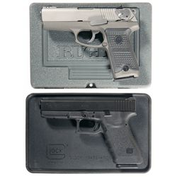 Two Cased Semi-Automatic Pistols -A) Ruger P94 Semi-Automatic Pistol