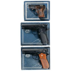 Three Boxed Smith & Wesson Semi-Automatic Pistols -A) Smith & Wesson Model 61 Semi-Automatic Pistol