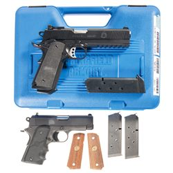 Two 1911 Semi-Automatic Pistols -A) Springfield Armory TRP Operator Semi-Automatic Pistol with Case