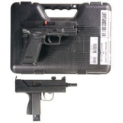 Two Semi-Automatic Pistols -A) Springfield Armory XD Semi-Automatic Pistol with Case and Accessories