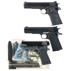 Three Semi-Automatic Pistols -A) Crown City Arms 1911 Semi-Automatic Pistol