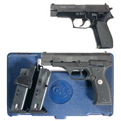 Two Semi-Automatic Pistols -A) Sig Sauer P226 Semi-Automatic Pistol