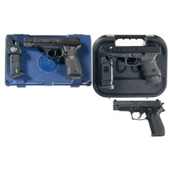 Three Semi-Automatic Pistols -A) Colt Model 2000 All American Semi-Automatic Pistol with Case
