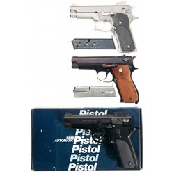 Three Smith & Wesson Semi-Automatic Pistols -A) Smith & Wesson Model 659 Semi-Automatic Pistol
