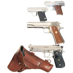 Four Semi-Automatic Pistols -A) Raven Arms Model MP-25 Semi-Automatic Pistol