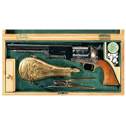 Cased Colt Black Powder Series Walker Percussion Revolver with Accessories