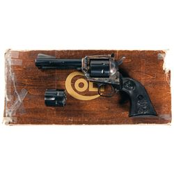 Colt New Frontier Single Action Revolver with Box