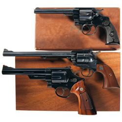 Three Boxed Handguns -A) Colt Army Special Double Action Revolver