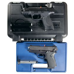 Two Cased Smith & Wesson Semi-Automatic Pistols -A) Smith & Wesson M&P9 Semi-Automatic Pistol