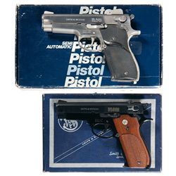 Two Boxed Smith &amp; Wesson Semi-Automatic Pistols -A) Smith &amp; Wesson Model 639 Semi-Automatic Pistol