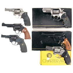 Six Double Action Revolvers -A) Taurus Model 431 Double Action Revolver with Box