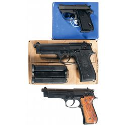 Three Beretta Semi-Automatic Pistols -A) Beretta Model 3032 Tomcat Semi-Automatic Pistol with Box