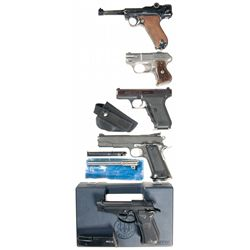 Five Hand Guns -A) Erma KGP-69 Semi-Automatic Pistol