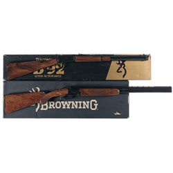 Two Boxed Browning Long Guns -A) Browning Model 92 Lever Action Rifle