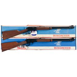 Two Boxed Winchester Lever Action Long Guns -A) Winchester Model 9422 Lever Action Rifle