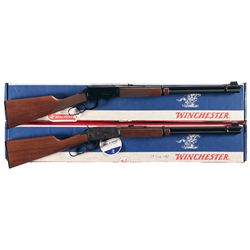 Two Boxed Winchester Lever Action Long Guns -A) Winchester Model 94 XTR Lever Action Rifle