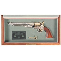 Cased American Historical Foundation Col. John Singleton Mosby Commemorative Percussion Revolver