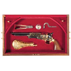 Cased U.S. Historical Society Sam Houston Colt Walker Commemorative Revolver