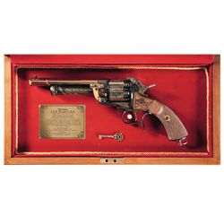 Cased American Historical Foundation Gen. J.E.B. Stuart Commemorative LeMat Percussion Revolver
