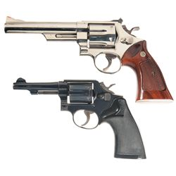 Two Smith & Wesson Double Action Revolvers -A) Smith & Wesson Model 29-2 Double Action Revolver