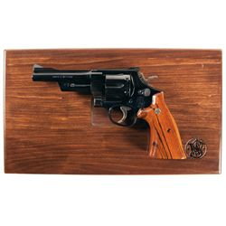 Cased Smith & Wesson Model 27-3 50th Anniversary Commemorative Double Action Revolver with Box