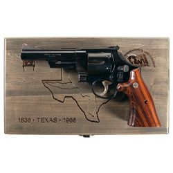 Cased Smith & Wesson Model 544 Texas Commemorative Double Action Revolver