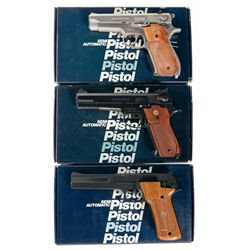 Three Boxed Smith &amp; Wesson Semi-Automatic Pistols -A) Smith &amp; Wesson Model 639 Semi-Automatic Pistol